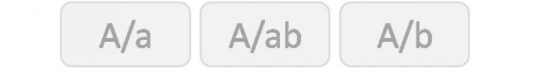 Genotyp för blodgrupp A